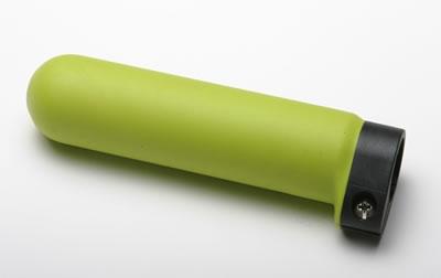 Zelená gumová hladká ručka (pro kompozitní madlo s upravitelnou délkou)